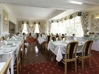 Breakfast room at the Elmington Torquay